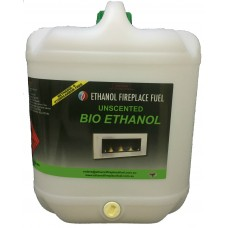 Unscented Bio Ethanol Fireplace Fuel - 10 Litre
